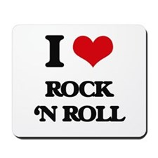 rock 'n roll Mousepad