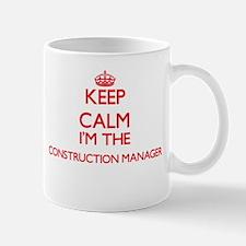 Keep calm I'm the Construction Manager Mugs