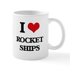rocket ships Mugs