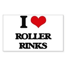 roller rinks Decal