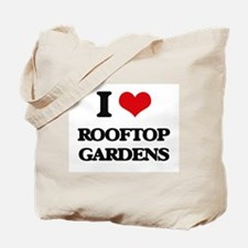 rooftop gardens Tote Bag