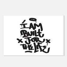 I am built for the life Postcards (Package of 8)