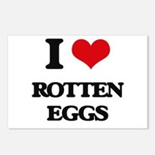 rotten eggs Postcards (Package of 8)