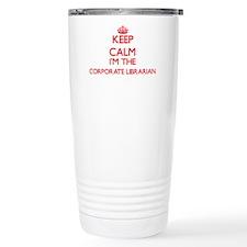 Keep calm I'm the Corpo Travel Mug