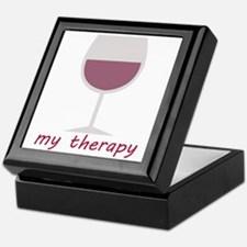 Wine_My Therapy Keepsake Box