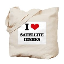 satellite dishes Tote Bag