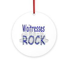 Waitresses Rock Ornament (Round)
