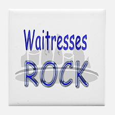 Waitresses Rock Tile Coaster