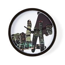 LA Wall Clock