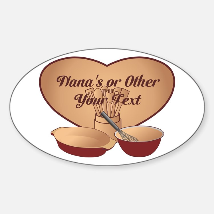 Personalized Cooking Decal