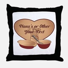 Personalized Cooking Throw Pillow