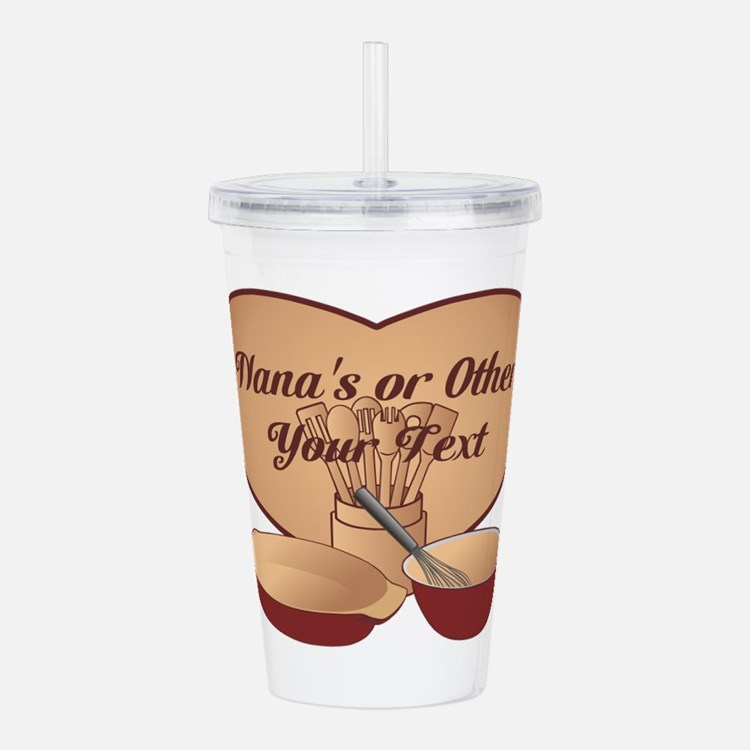 Personalized Cooking Acrylic Double-wall Tumbler