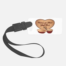 Personalized Cooking Luggage Tag