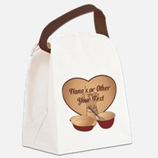 Personalized Cooking Canvas Lunch Bag