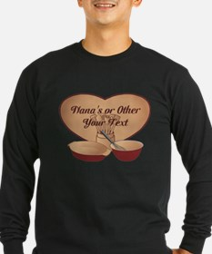 Personalized Cooking Long Sleeve T-Shirt