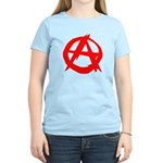 Anarchy-Red Women's Light T-Shirt