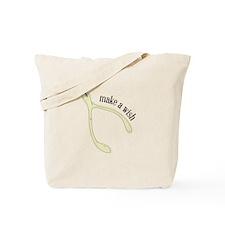 Wishbone_Make A Wish Tote Bag
