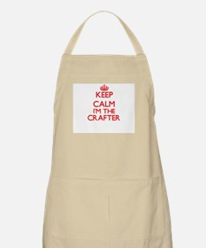 Keep calm I'm the Crafter Apron