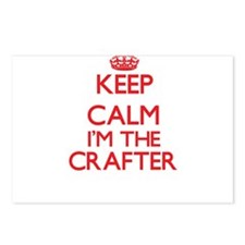 Keep calm I'm the Crafter Postcards (Package of 8)