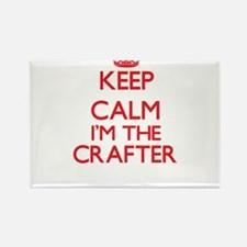 Keep calm I'm the Crafter Magnets