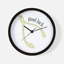 Wishbone_Good Luck Wall Clock