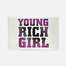 Pink Rich Girl Magnets