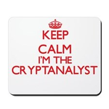 Keep calm I'm the Cryptanalyst Mousepad
