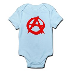 Anarchy-Red Infant Bodysuit