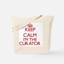 Keep calm I'm the Curator Tote Bag