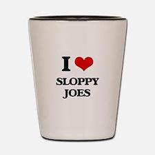 sloppy joes Shot Glass