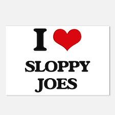 sloppy joes Postcards (Package of 8)