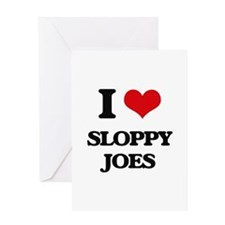 sloppy joes Greeting Cards