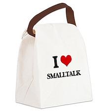 smalltalk Canvas Lunch Bag