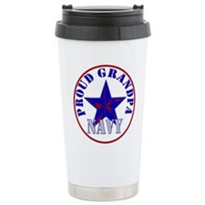 Unique Navy grandson Travel Mug