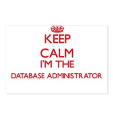 Keep calm I'm the Databas Postcards (Package of 8)