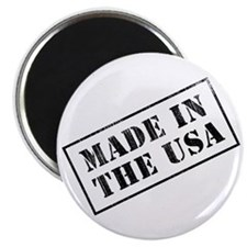 "Made In USA Stamp 2.25"" Magnet (10 pack)"