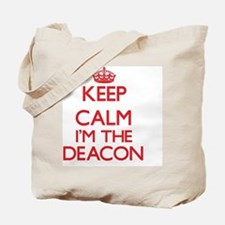 Keep calm I'm the Deacon Tote Bag