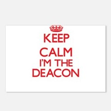 Keep calm I'm the Deacon Postcards (Package of 8)