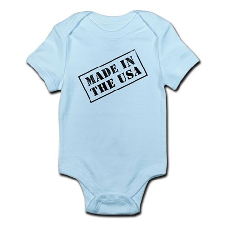 Made In USA Stamp Infant Bodysuit