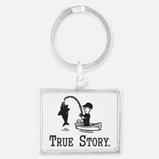 True Story Keychains