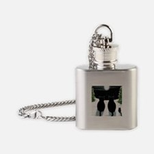 Cat 429 Flask Necklace