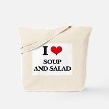 soup and salad Tote Bag