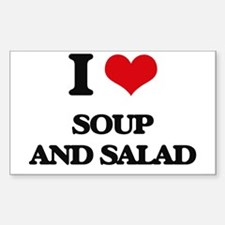 soup and salad Decal
