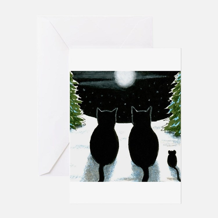 Cat 429 Greeting Cards