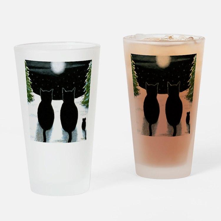 Cat 429 Drinking Glass