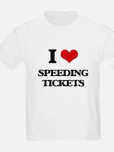speeding tickets T-Shirt
