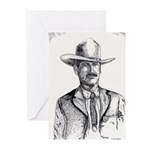 Lawman Greeting Cards (Pk of 10)