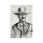 Lawman Rectangle Magnet (100 pack)