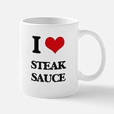 steak sauce Mugs