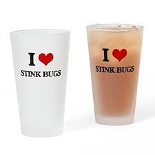 stink bugs Drinking Glass